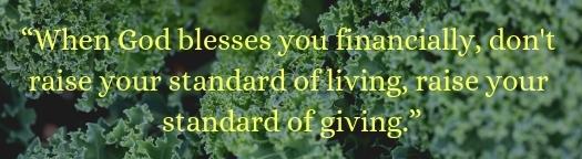 Biblical Principles of Tithing