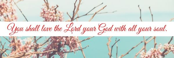 What does it mean to love the Lord with all your soul