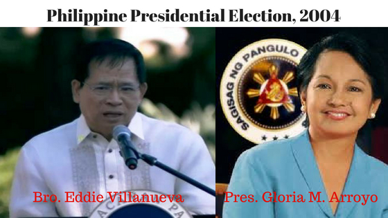 Philippine Presidential Election 2004