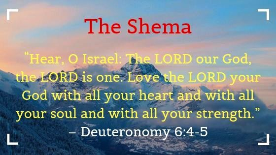 What is the First and Greatest Commandment of God