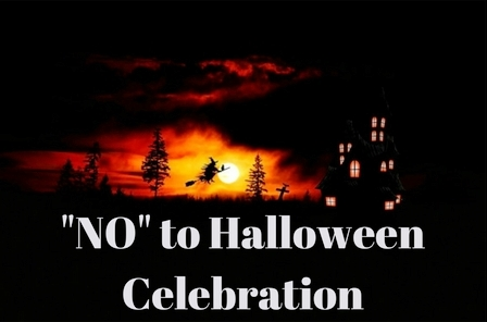 why i believe christians should not celebrate halloween