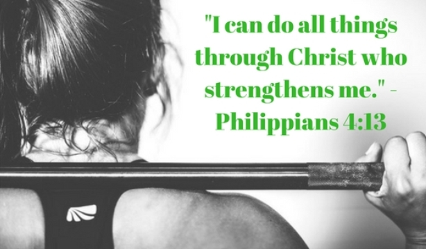 Yes I Can Do All Things Through God Who Gives Me Strength