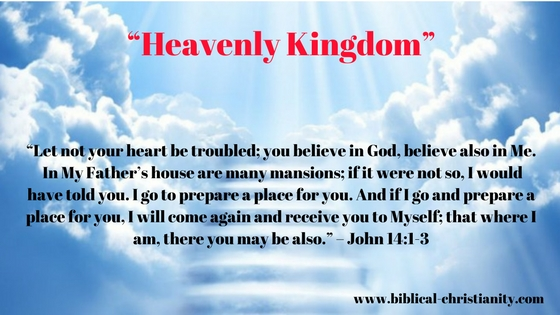 God's kingdom is not of this world