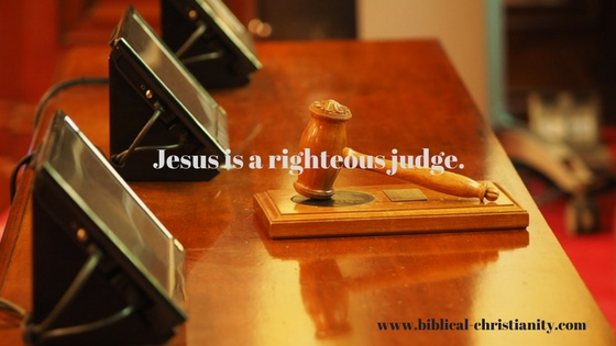 Jesus is a righteous judge