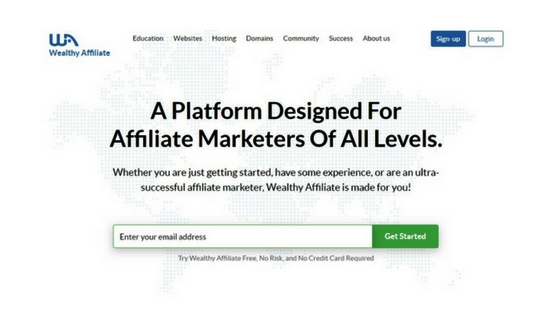 Wealthy Affiliate: The Home of Affiliate Marketing