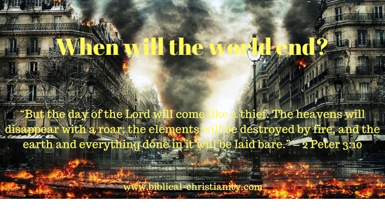 What does the Bible say about the end of the world?