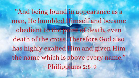 Philippians 2:8-9
