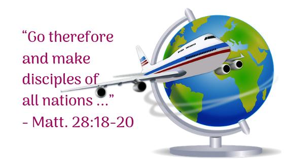 Go into the whole world to preach the gospel