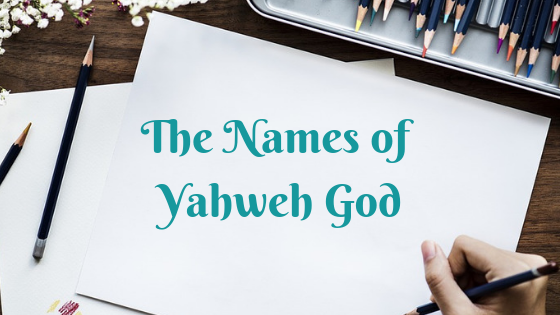The compound names of God and their meanings