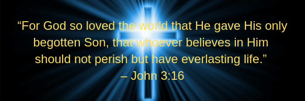 For God so loved the word - John 3:16