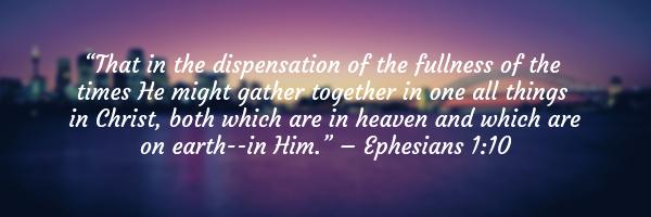 Ephesians 1:10