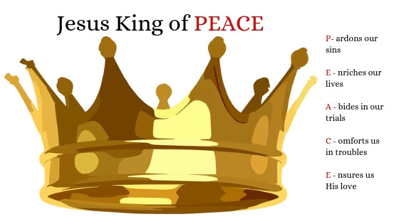 Jesus Christ King of Peace