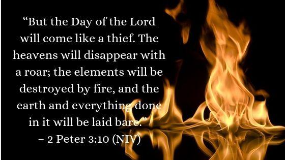 2 Peter 3:10 NIV
