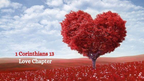 : 1 Corinthians 13 Love Chapter