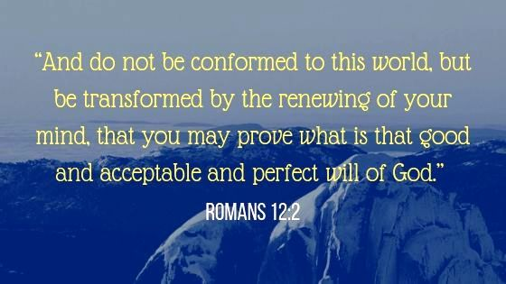 Romans 12:2 NKJV