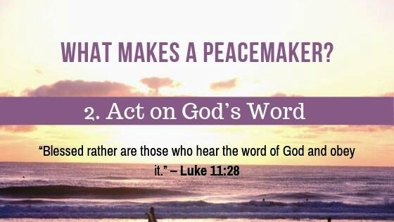 What makes a Peacemaker