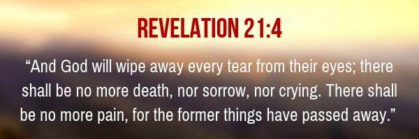 Revelation 21:4 NKJV