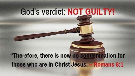 Romans 8:1 NIV