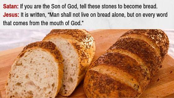 The 3 Temptations of Jesus Christ