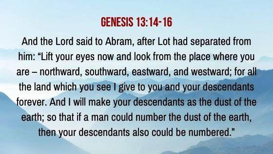 Genesis 13:14-16