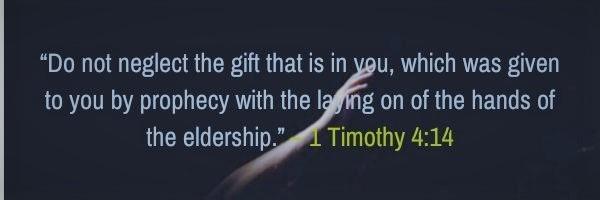 1 Timothy 4:14