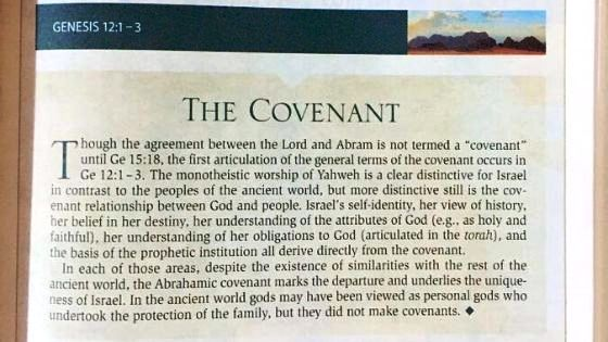 What is God's Covenant with Abraham