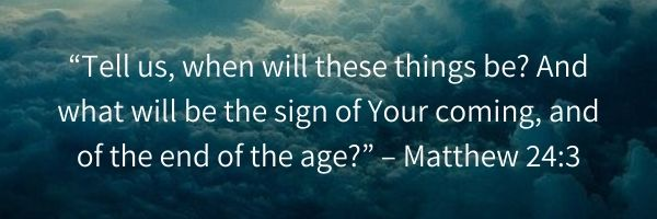 Matthew 24:3