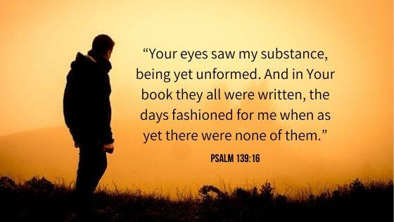 Psalm 139:16 NKJV