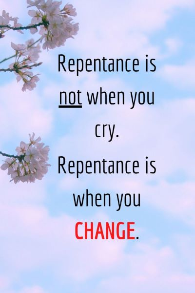What is the Biblical Definition of Repentance