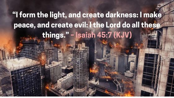 Does the Bible Teach that God is the Originator of Evil