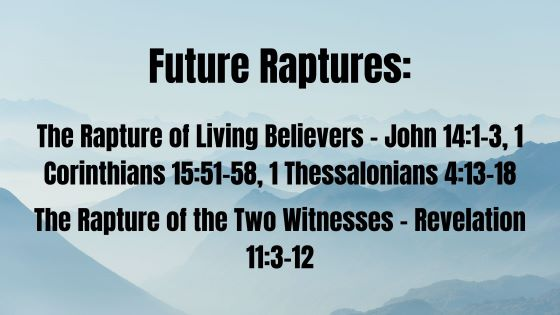 A Bible Study on the Rapture