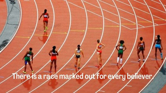 Let Us Run the Race Marked Out For Us