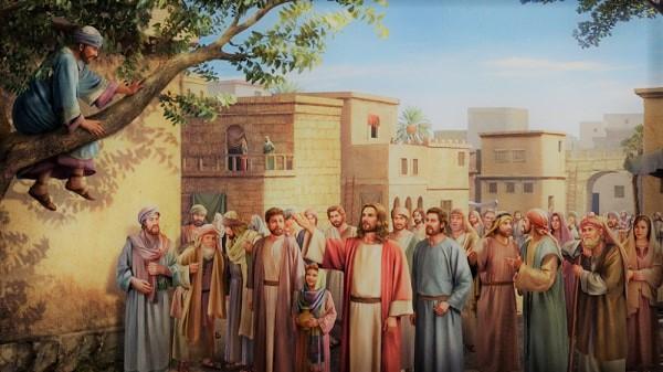 Jesus Visits Zacchaeus