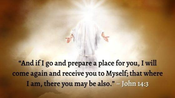 John 14:3 (NKJV)