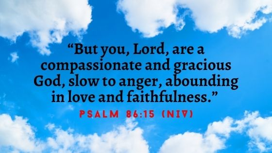 God is compassionate and gracious