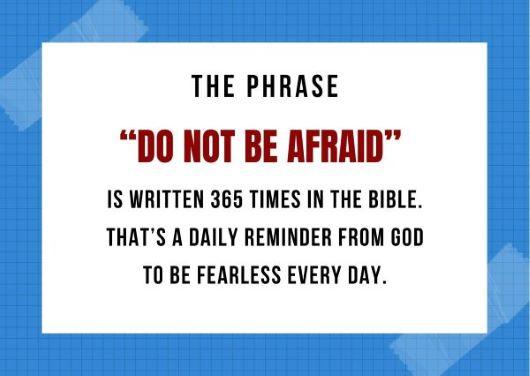 Do Not Fear, Trust God