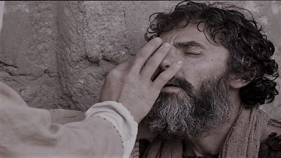 The Healing of the Man Born Blind