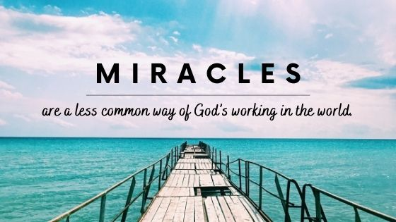 The Biblical Definition of Miracles